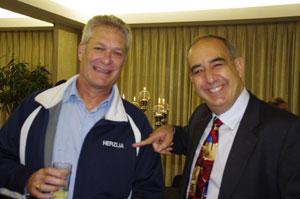 Jeff Cohen (United-Herzlia Schools) & Ambassador Arthur Lenk