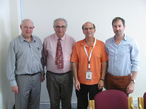 Rodney Mazinter (Vice Chairman SAZF Cape Council), Jonathan Silke (President SAZF Cape Council), Rafi Goldman and Daniel Levitt (2nd Vice Chairman SAZF Cape Council)