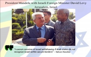 Nelson Mandela in Israel